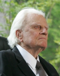 The elder Billy Graham