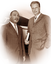 Billy Graham & Martin Luther King, Jr.