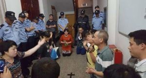 Chinese authorities raid a worship service