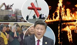 Xi and the Burning Crosses