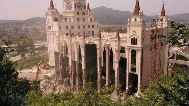 Destruction of Chinese Christian Church
